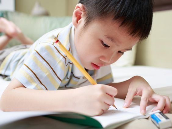 An educational consultant explains why some children write letters backward and how this habit can be corrected.