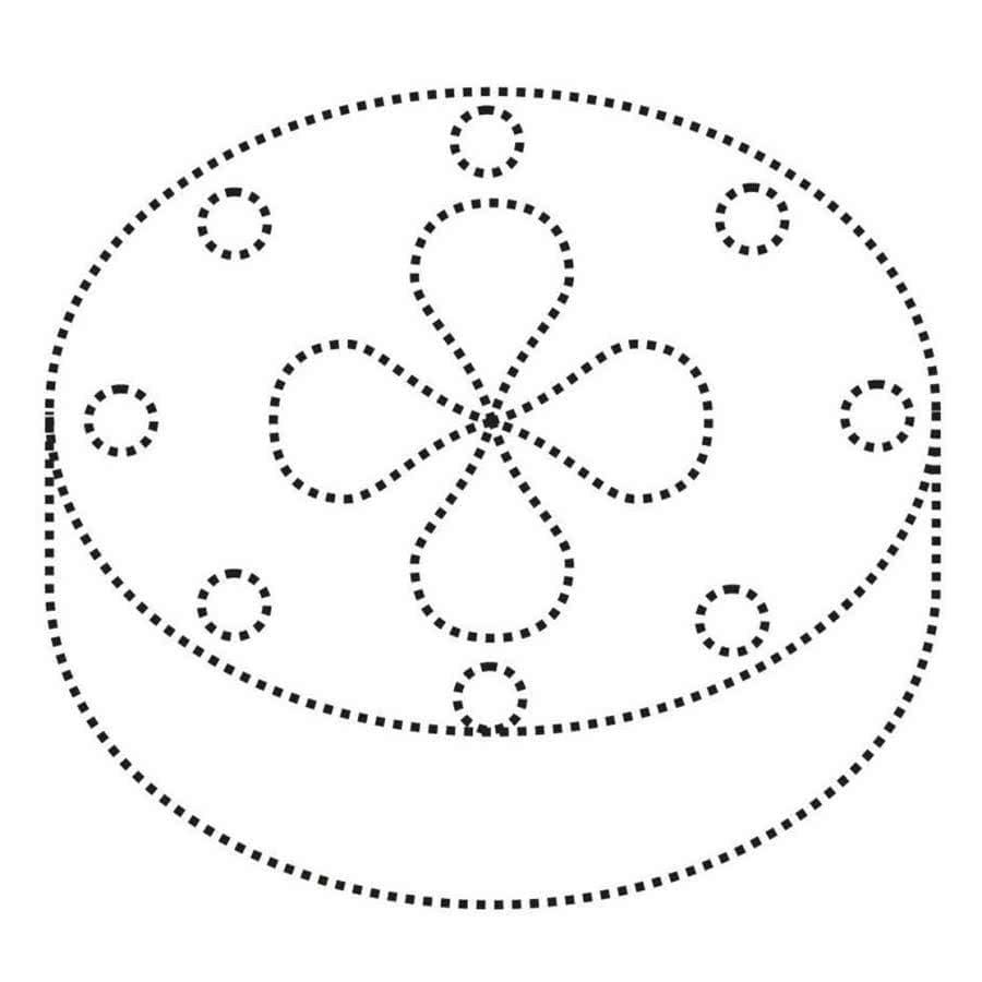 Картинка хлеб соединить по точками