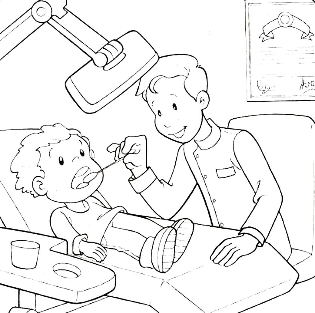 Стоматология для детей картинки с пояснением распечатать