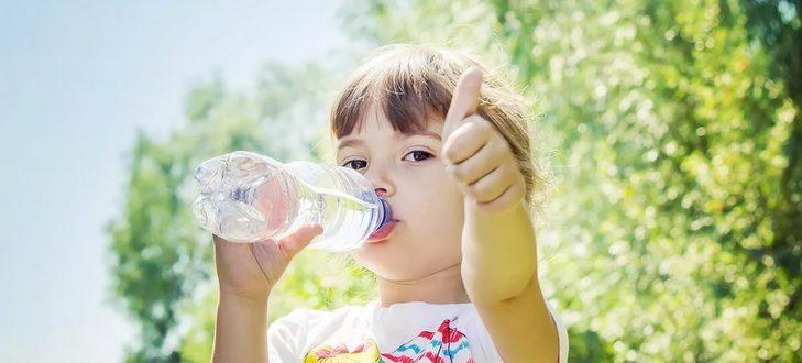 чистая вода для детей