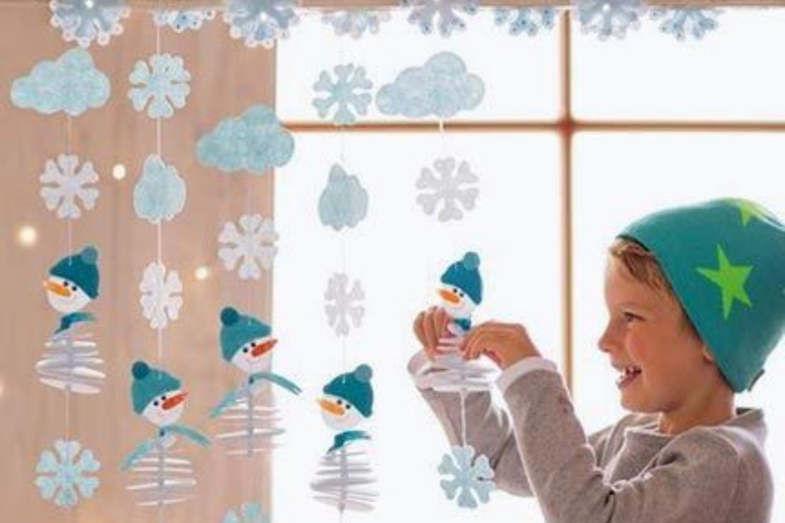 Гирлянда из снежинок