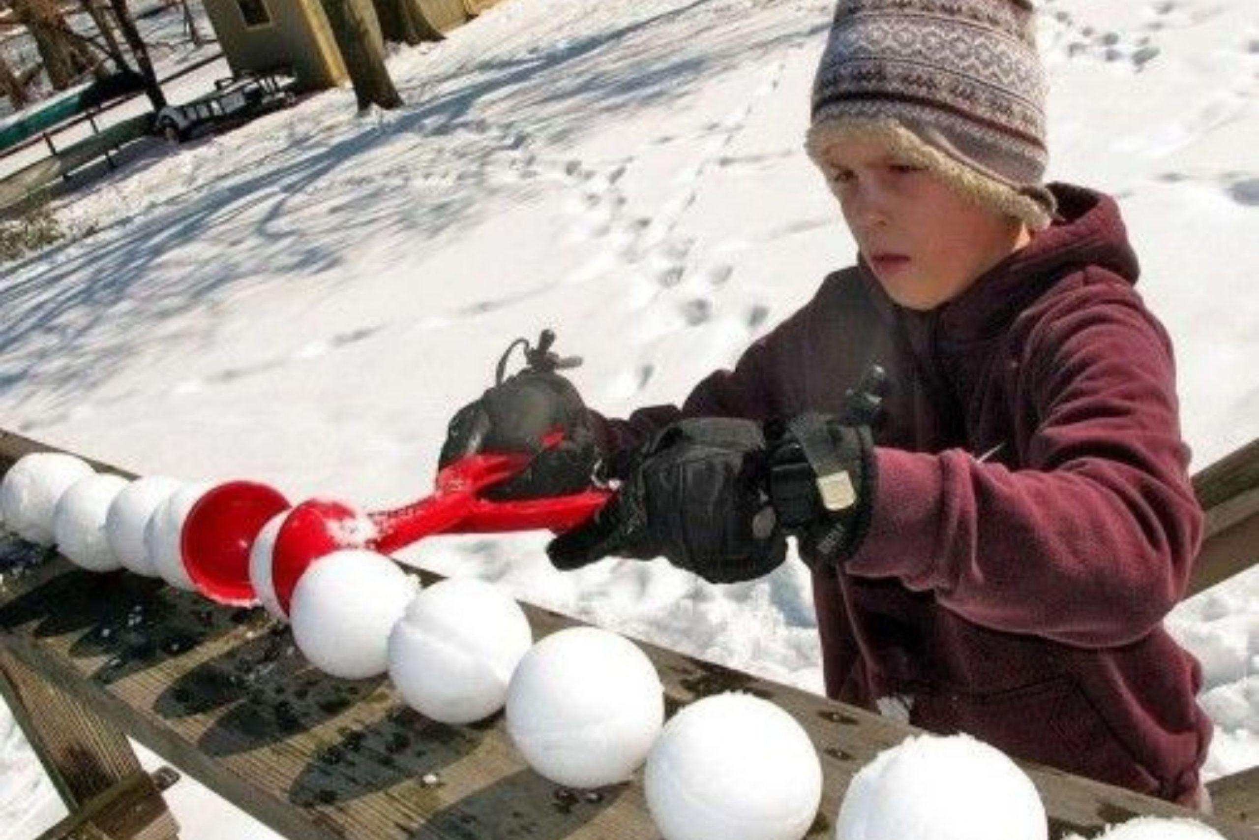 Какие детские зимние забавы понравятся вашему ребенку
