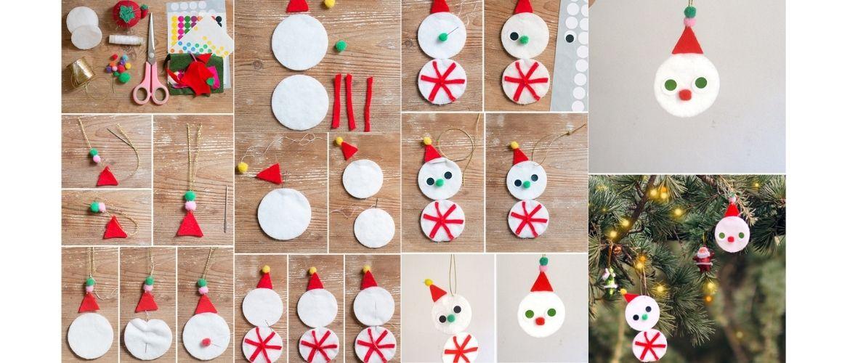 Снеговик из дисков своими руками - инструкция, фото
